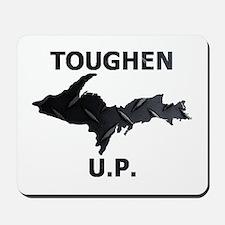 Toughen U.P. In Black Diamond Plate Mousepad