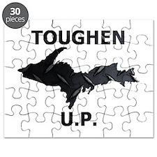 Toughen U.P. In Black Diamond Plate Puzzle