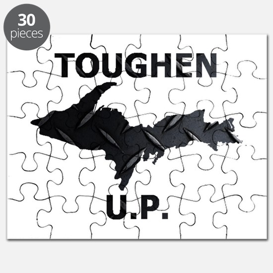 Toughen U.P. In Black Diamond Plate Puzzle