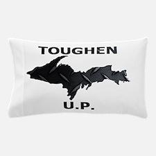 Toughen U.P. In Black Diamond Plate Pillow Case