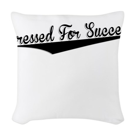 Dressed For Success, Retro, Woven Throw Pillow