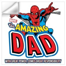 The Amazing Dad Wall Art Wall Decal