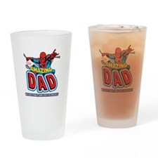 The Amazing Dad Drinking Glass