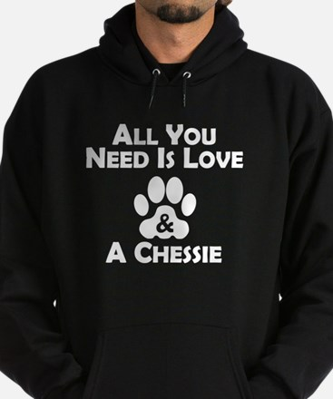 Love And A Chessie Hoodie
