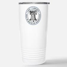 Liberty Bell Stainless Steel Travel Mug
