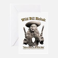 Wild Bill Hickok 01 Greeting Cards (Pk of 10)