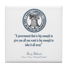 Barry Goldwater Quote Tile Coaster