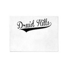 Druid Hills, Retro, 5'x7'Area Rug