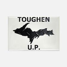 Toughen U.P. In Black Diamond Plate Magnets