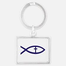 Christian Fish 222 Keychains