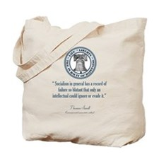 Thomas Sowell Quote Tote Bag