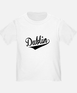 Dublin, Retro, T-Shirt