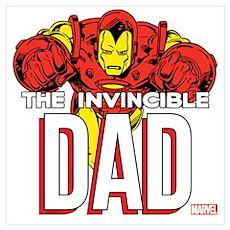 Invincible Dad Wall Art Poster