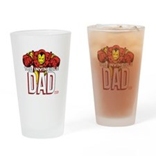Invincible Dad Drinking Glass