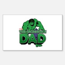 The Incredible Dad Decal