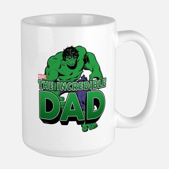 The Incredible Dad Large Mug
