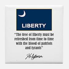 Tree of Liberty Tile Coaster