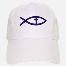 Christian Fish 222 Baseball Baseball Baseball Cap