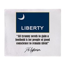 People of Conscience Throw Blanket