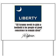 People of Conscience Yard Sign