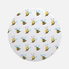 Sweet Bees Ornament (Round)