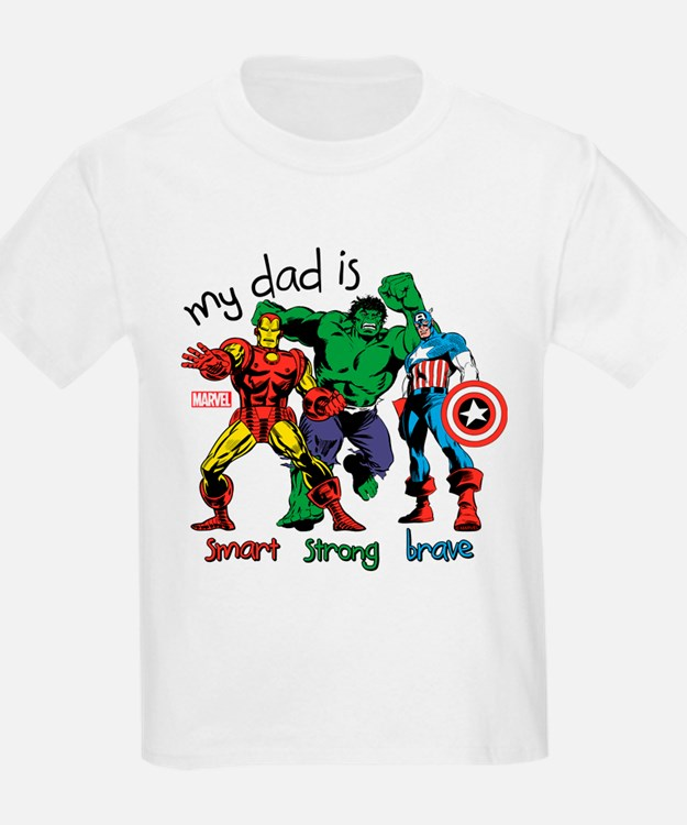Marvel My Dad is Smart T-Shirt