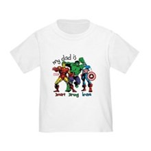 My Dad is Smart Toddler Tee
