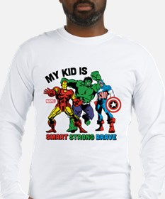 Marvel My Kid is Smart Long Sleeve T-Shirt