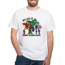 Marvel My Kid is Smart Shirt