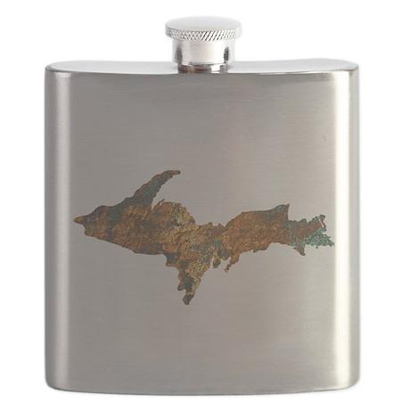 Raw Float Copper Flask