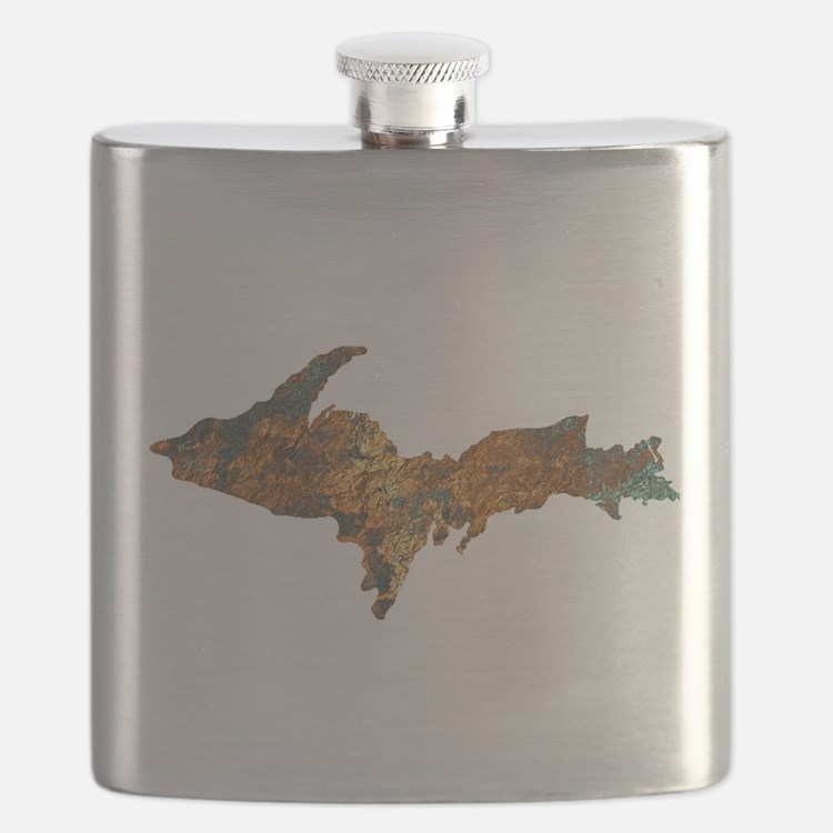 Raw Float Copper Flask
