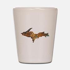 Raw Float Copper Shot Glass