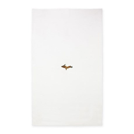Raw Float Copper 3'x5' Area Rug