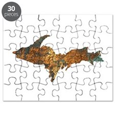 Raw Float Copper Puzzle