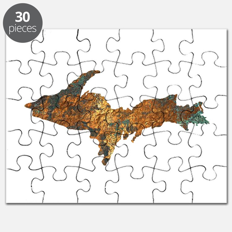 Raw Float Copper Puzzle