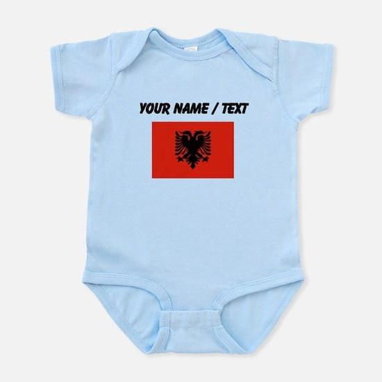 Custom Albania Flag Body Suit