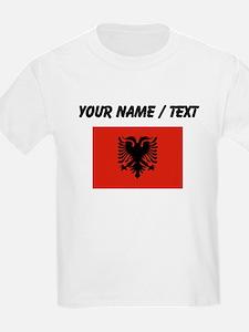 Custom Albania Flag T-Shirt