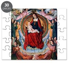 Master of Moulins - Madonna and Child - 15th Centu