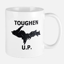 Toughen U.P. In Black Diamond Plate Mugs