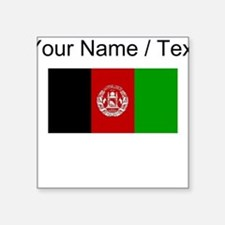 Custom Afghanistan Flag Sticker