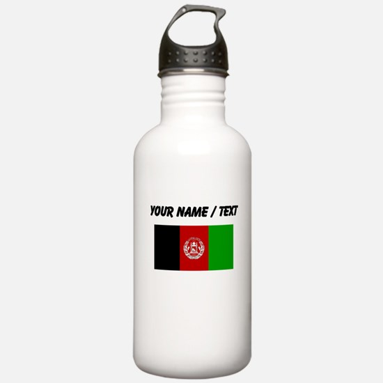 Custom Afghanistan Flag Water Bottle