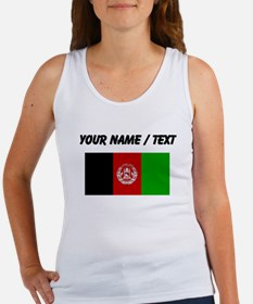 Custom Afghanistan Flag Tank Top
