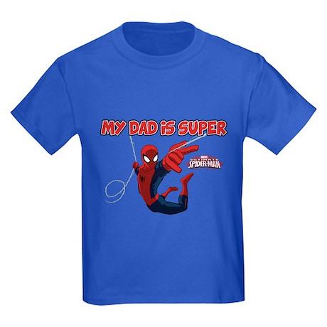 Spider-man Super Kids Dark T-Shirt