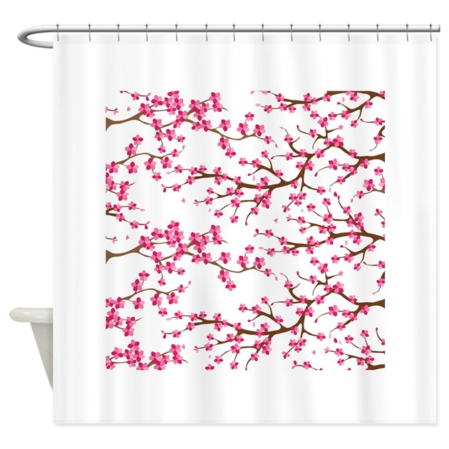 Cherry blossom curtains