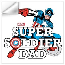 Super Soldier Dad Wall Art Wall Decal