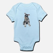Schnauzer (gp) Infant Bodysuit