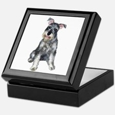 Schnauzer (gp) Keepsake Box