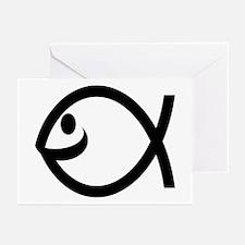 Smiling Fish Greeting Cards (6)