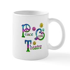 Peace Love Theatre Mug