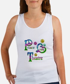 Peace Love Theatre Women's Tank Top